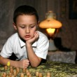 Stock Photo: Pensive boy
