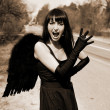 Scream - Angel in the road — Stock Photo #2749684