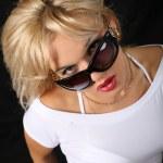 Woman in sunglasses — Stock Photo #2842770