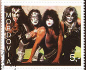 American rock band Kiss — 图库照片