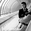 Стоковое фото: Hard relationship - mand woman