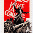 Stock Photo: 100 years of Paris Commune
