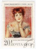 Picture of artist Renoir — Stock Photo