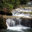Waterfall in Thailand, Kanchanaburi NP — Stock Photo