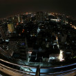 Bangkok in night, Thailand — Stock Photo