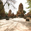 Stock Photo: Monuments of buddah in Ayutthaya