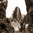 Bayon Temple at Angkor Thom, Cambodia — Foto de Stock