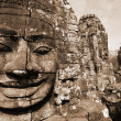 Bayon Temple at Angkor Thom, Cambodia — Stock Photo #2877643