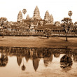 Angkor Wat Temple , Siem Reap - Stock Photo