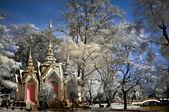 Buddhist temple in Ayutthaya — Stock Photo