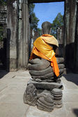 Buddha in Angkor, Cambodia — Stock Photo