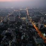 Bangkok in night, Thailand — Stock Photo