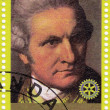 Captain James Cook great  explorer — Stock Photo