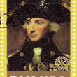 Horatio Nelson English navy officer — Stock Photo