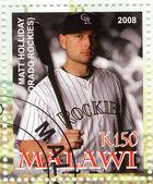 Best baseball player - Matt Holiday — Stock Photo