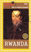 Sir Francis Drake English sea captain — Stock Photo