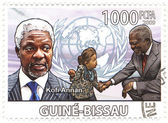 Kofi Annan — Stock Photo