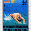 American olympic swimmer John Naber - Stock Photo