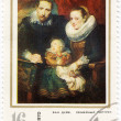 Van Dyck the Domestic portrait — Stock Photo