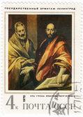 Apostel Paulus und Petrus — Stockfoto
