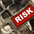 Risk management key showing business insurance concept — Stock Photo #2908609
