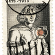Stock Photo: Stamp USof Nicolaus Copernicus