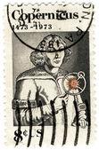 Stamp USA of Nicolaus Copernicus — Stock Photo