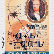 Sir Isaac Newton - Stock Photo
