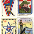 Old stamps of Cuba, XXX file size — Stock Photo