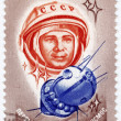 Yuri Gagarin - first human in space — Stock fotografie