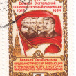 Постер, плакат: Stalin Lenin Engels Karl Marx