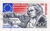 Portrait of Jefferson — Stock Photo