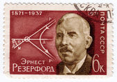 Ernest rutherford — Stockfoto