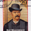 William Barclay Bat Masterson - Stock Photo