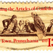 Royalty-Free Stock Photo: Drafting the Articles of Confederation