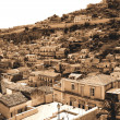 Old Italy ,Sicily, Modica city - Stock Photo