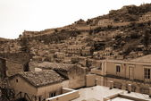 Old Italy ,Sicily, Modica city — Stock Photo