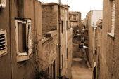 Eski i̇talya, sicilya, ribera şehir — Stok fotoğraf
