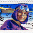 Harriet Quimbly American pioneer pilot — Stock Photo
