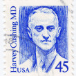 chirurgien américain de Harvey cushing — Photo
