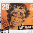 Blues singer Ma Rainey - Stok fotoğraf