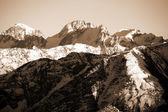 área de la montaña elbrus — Foto de Stock