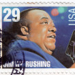 Blues singer Jimmy Rushing — Stock Photo