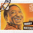 Blues singer Muddy Waters — Foto de stock #3002167