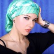 Stock Photo: Womin east arabic turban