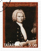 Johann Sebastian Bach — Stock Photo