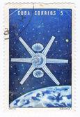 Soviet space station Molnia — Stockfoto