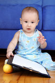 Baby planning a day — Stockfoto