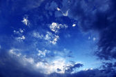 Dramatic cloudy sky — Stock Photo
