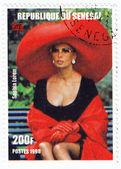 Oblíbená italská herečka sophia loren — Stock fotografie